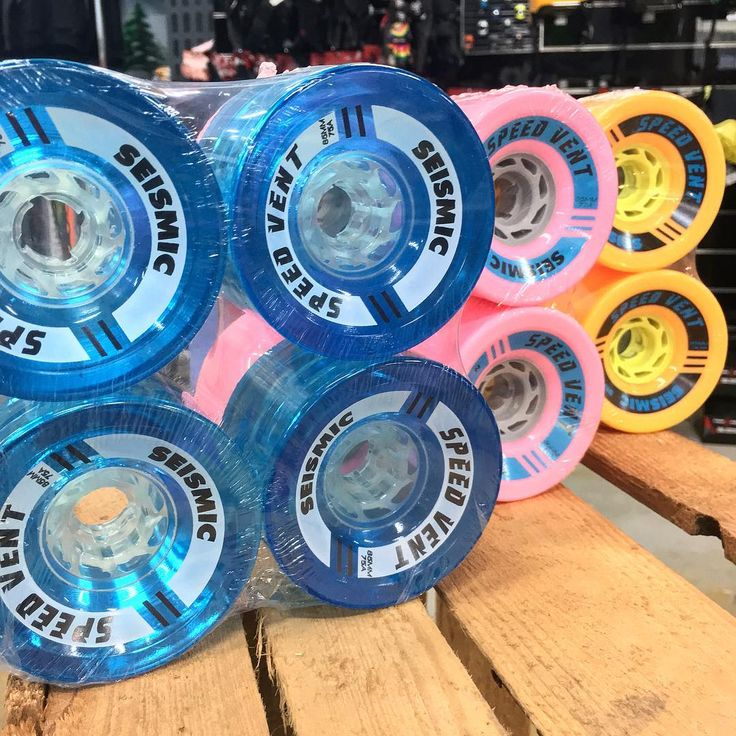 The Speedvents are one of the best wheels for Long Distance Pushing, there's almost no rolling resistance and they charge over the roughest pavements.  #seismicwheels #ldp #sickboards #longboard