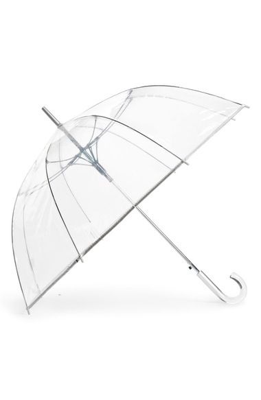 ShedRain Auto Open Stick Clear Dome Umbrella available at #Nordstrom