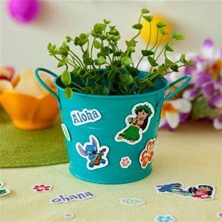 kerajinan anak balita/TK/SD, buat sendiri (gunting tempel) stiker lucu Disney Lilo & Stitch