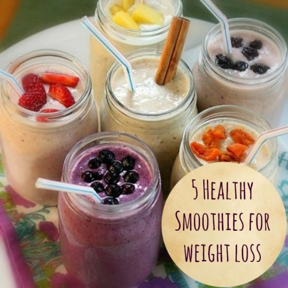 5 Healthy Smoothies for weight loss image
