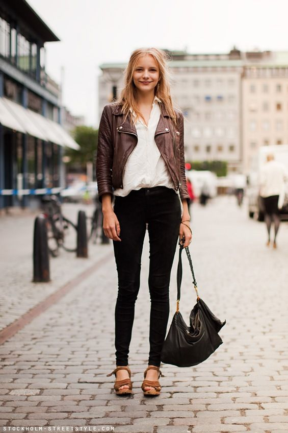 17 Best images about brown leather jacket on Pinterest | Cold ...