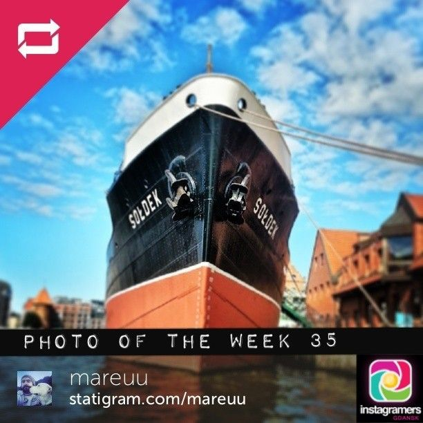 IgersGdansk Photo of the Week 35. Congratulations @Mareu Rezepian. Igers keep tagging your photos #igersgdansk for your chance to be IgersGdansk Pho...