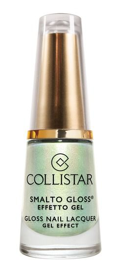 Smalto Gloss Effetto Gel Sorbetto n. 628 SORBETTO MENTA	#collistar #summer #estate #colors #colori #nails #unghie #smalti #makeup #verde #green