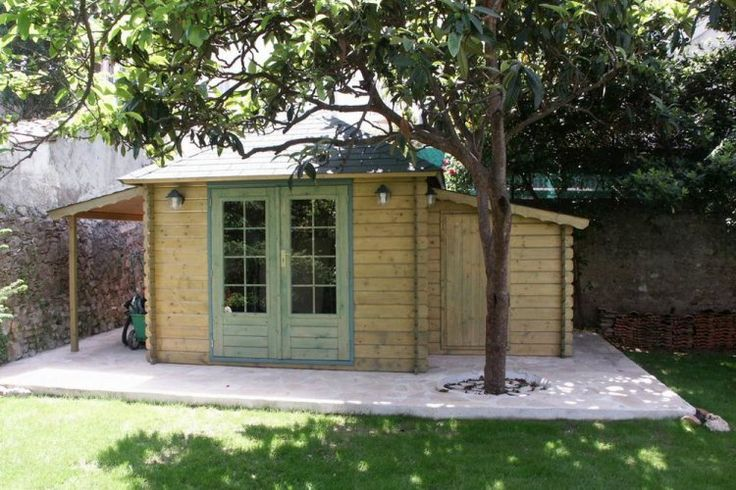 33 best Cabane images on Pinterest Child friendly garden, Diy - Maisonnette En Bois Avec Bac A Sable