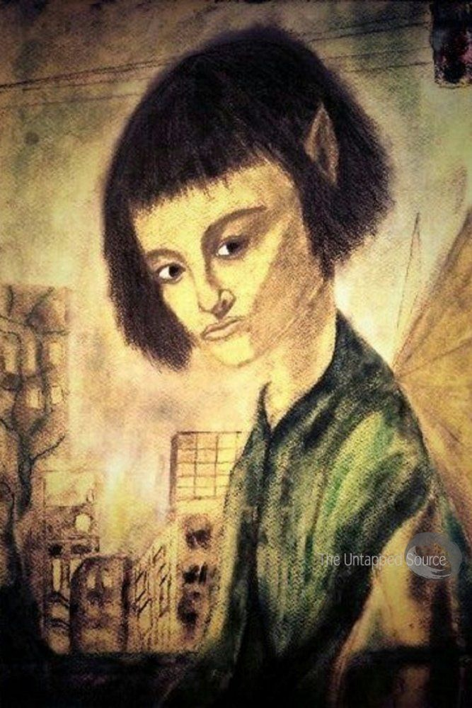 Urban fairy, by inger braathen is for sale as framed print, canvas print and fine print. Click on link.