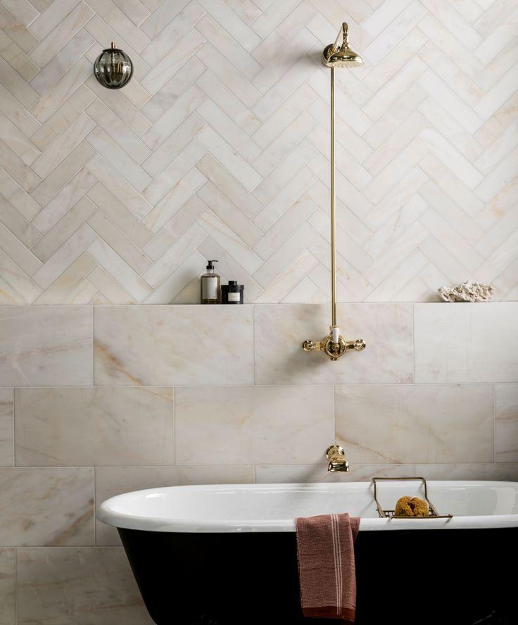 calacatta amber honed marble tiles  mandarin stone in