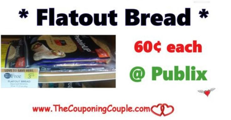 Cheap Flatout Flatbread ~ Only $0.60 Each @ Publix starting 11/24 with sale and Printable Coupon. * Print Now *  Click the link below to get all of the details ► http://www.thecouponingcouple.com/cheap-flatout-flatbread-only-0-60-each-publix/ #Coupons #Couponing #CouponCommunity  Visit us at http://www.thecouponingcouple.com for more great posts!
