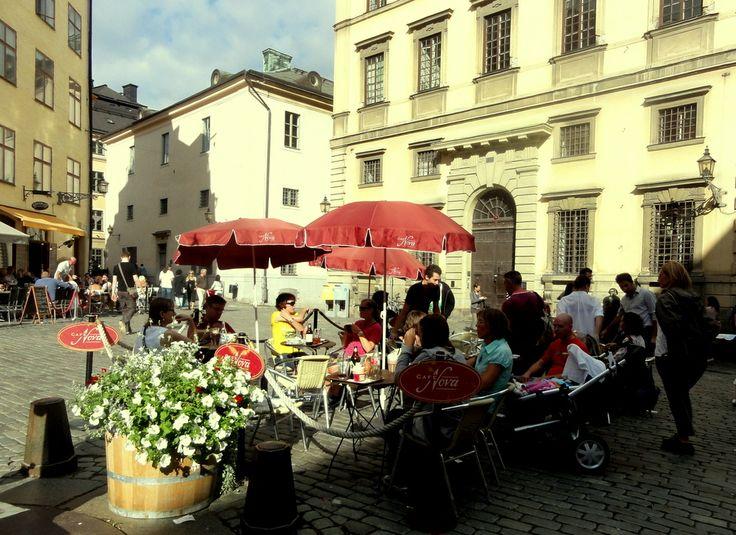 Travel & Lifestyle Diaries:Järntorget (Iron Square) in Gamla Stan, Stockholm