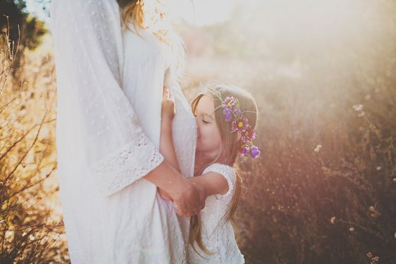 i am OBSESSED with every image from this session!  when we have another baby, this MUST HAPPEN.  Mother-daughter maternity photos | Wild Whim Design | 100 Layer Cakelet