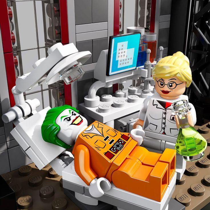 """New """"Batman: Arkham Asylum Breakout"""" LEGO Set"""