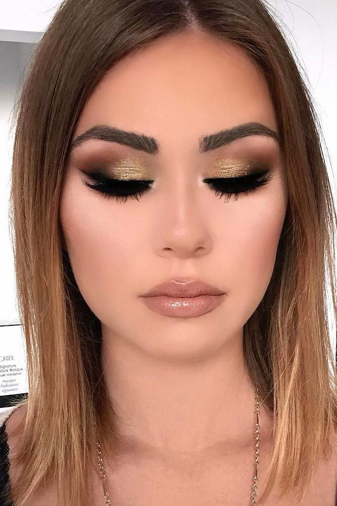 Prom Makeup For Brown Eyes: 17 Best Ideas About Dark Look On Pinterest