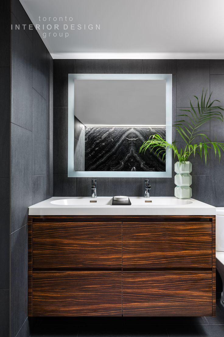 toronto interior design group yanic simard mirror tvbathroom