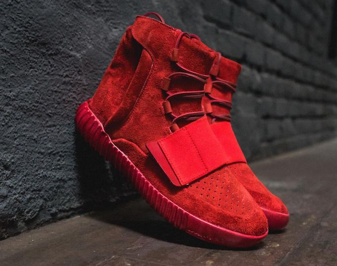 Custom YZY 750's 'Red Octobers'