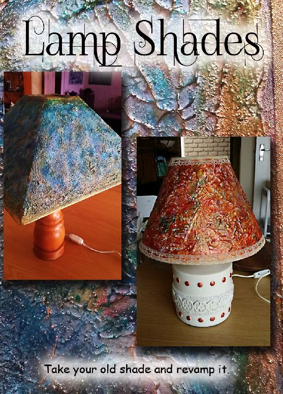 Lamp Shade re-vamp