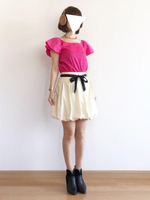 YUKIちゃんの『ビスケット』のMVの衣装です ♬*.:*