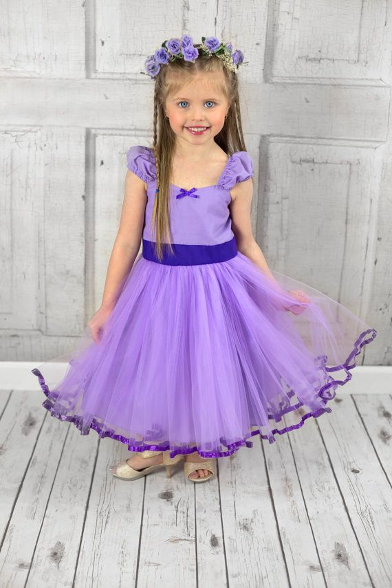 LAVENDER dress lavender TUTU  DRESS with by loverdoversclothing
