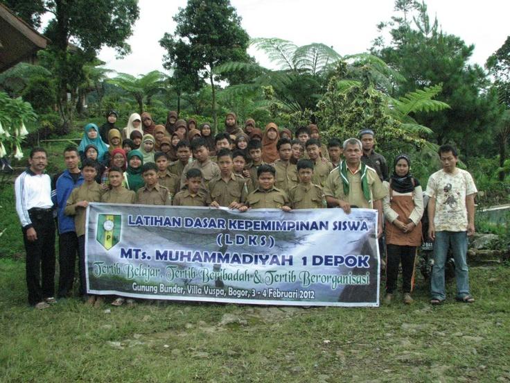 LDKS di VILA PUSPA, Gunung Bunder Bogor