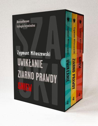 Pakiet: Uwikłanie / Ziarno prawdy / Gniew - Miłoszewski Zygmunt za | Książki empik.com