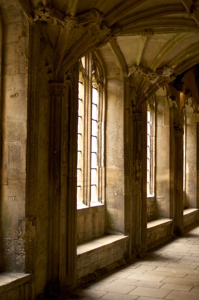 Christ Church College, Oxford by Robert Mealing. Founded 1524 by Thomas Wolsey