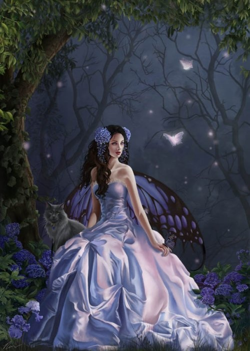 Fairy by  Nene Thomas