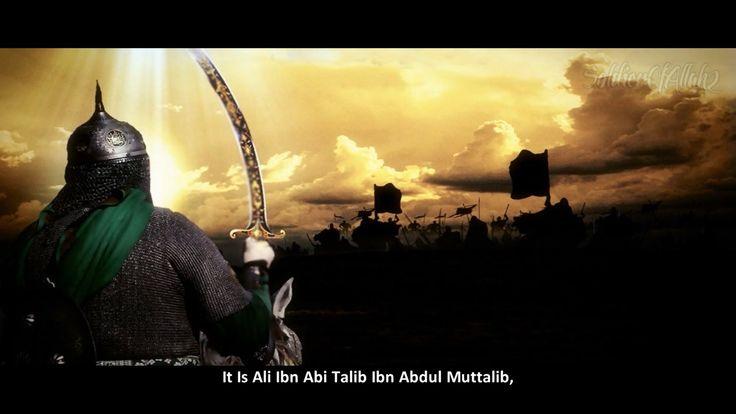 Ali Ibn Abi Talib RA. Fourth Khalifa Of Believers.