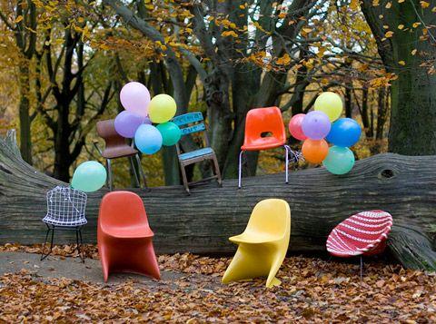 vintage designer children's chairs