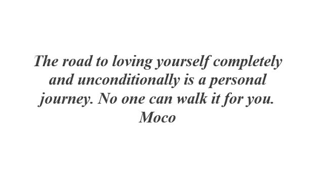 Miss Moco: The road to loving yourself