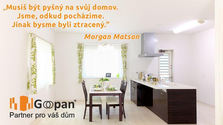 Také máte rádi místo, kde bydlíte nebo uvažujete o změně? :) Hezký den vám přeje Goopan. www.goopan.cz