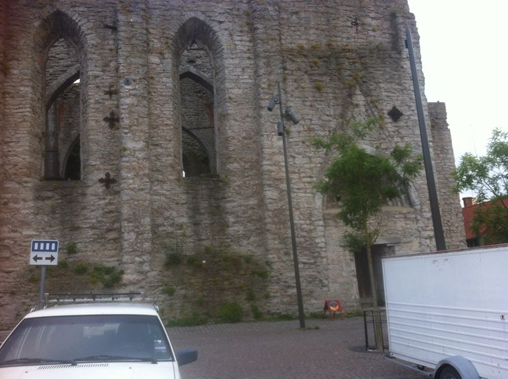 A ruin in Visby!