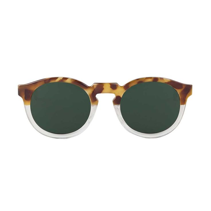 High-Contrast Tortoise/Transparent Jordaan with classical Lenses
