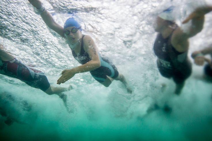 Xel-Há, escenario majestuoso para la etapa de natación del Triatlón 2014.
