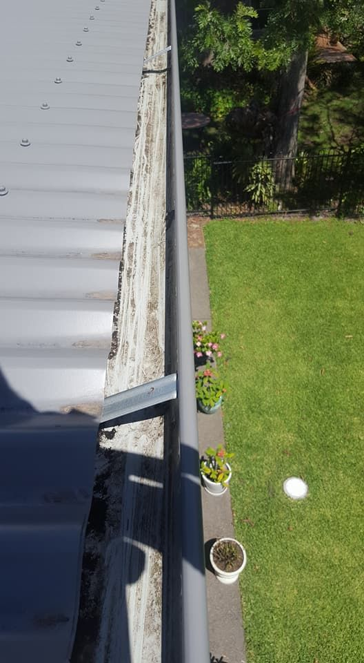 A great spotless picture from a job in Dunbogan. Cleaned by Gutter-Vac Port Macquarie.