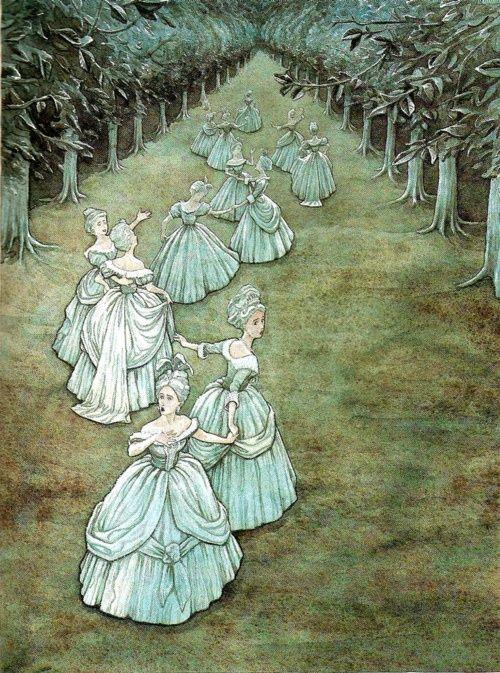 "P.J. Lynch, ""The Twelve Dancing Princesses"""