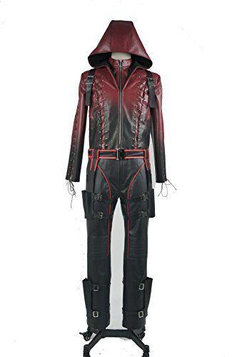 Green Arrow Season 3 Roy Harper Arsenal Red Arrow Cosplay Costume (S) Trust Costume http://www.amazon.com/dp/B00VUNIJ2W/ref=cm_sw_r_pi_dp_dte8vb1BP7DC7