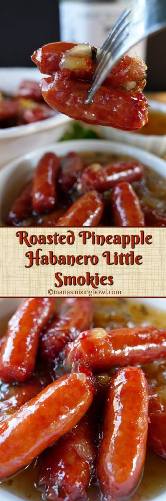 Roasted Pineapple Habanero Little Smokies