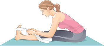 10 étirements de dos pour l'assouplir | Plaisirs santé