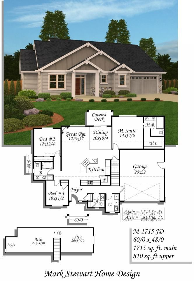 17 Best Images About One Story Home Plans On Pinterest