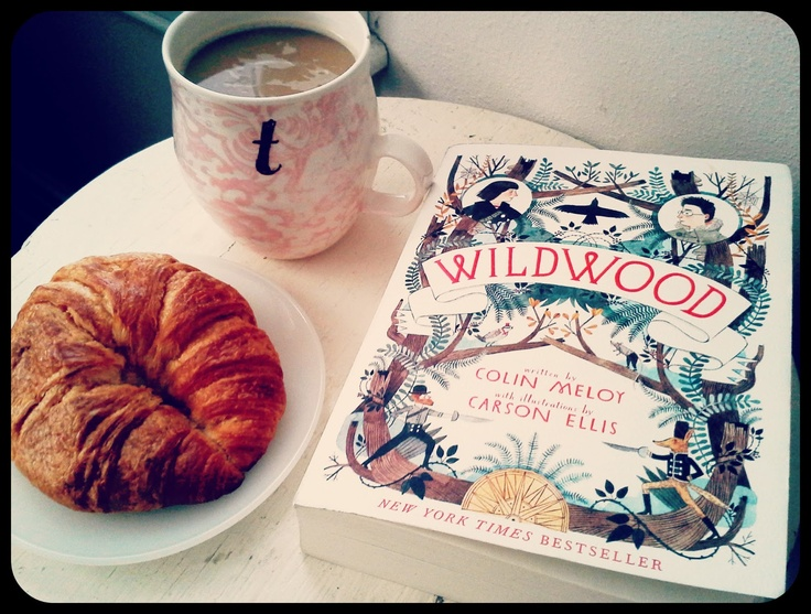 Wildwood by Colin Meloy of The Decemberists - Great book to read with yummy coffee!