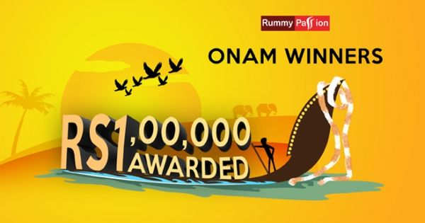 Big congratulations to Winners of Rummy Passion Onam Celebration. Stay tuned for more action! #OnamSpecial #Rummy