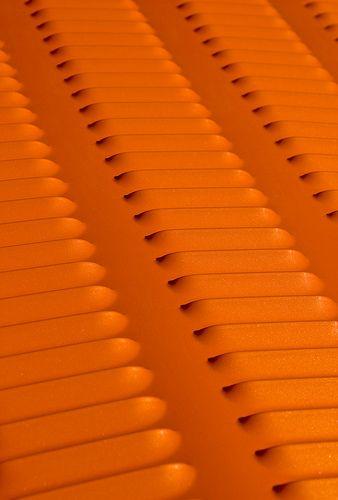 Orange | Arancio | Oranje | オレンジ | Colour | Texture | Style | Form | Louvered hood on a custom hot rod. Instagram, Twitter & Pinterest: @TrustVital