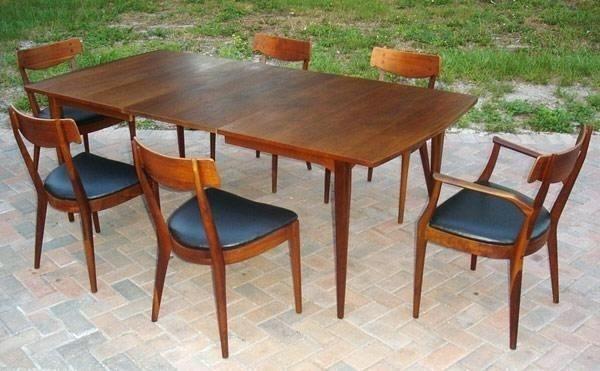 29+ Vintage mid century modern dining table Best Choice