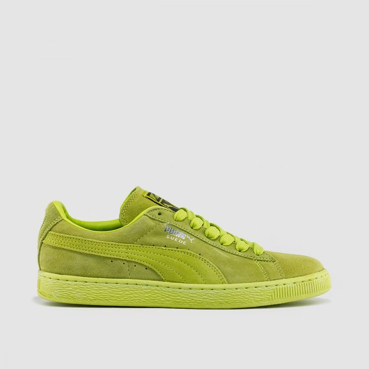 Puma Suede Classic+: Lime Punch