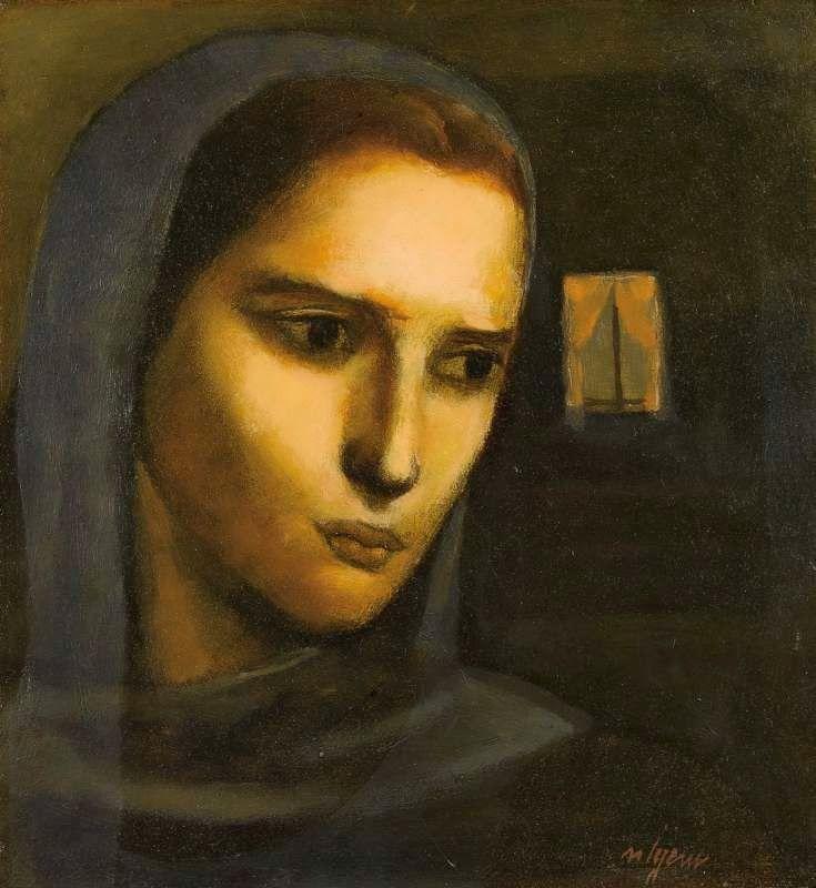 Nuri İyem (1915–2005) - Woman, 1976