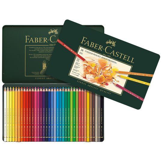 Faber-Castell Polychromos Color Pencils Tin Set