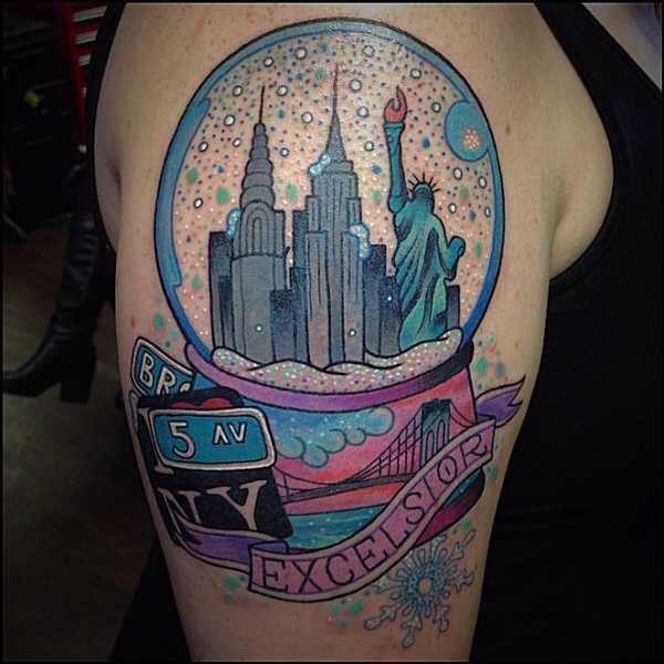 1000+ Ideas About New York Tattoo On Pinterest