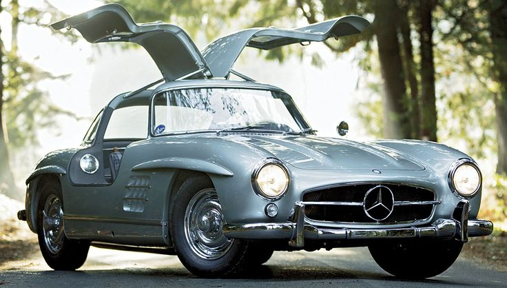 This rare alloy-bodied 1955 Mercedes-Benz 300SL Gullwing sold for 4.62 million at a Gooding & Company auction in January.300Sl Gullwing, 1955 Mercedes Benz, Classic Cars, 1955 Mercedesbenz, 300Sl 1955, 1955Mercedesbenz, Mercedesbenz 300Sl, Mercedes Benz 300Sl, Dreams Cars
