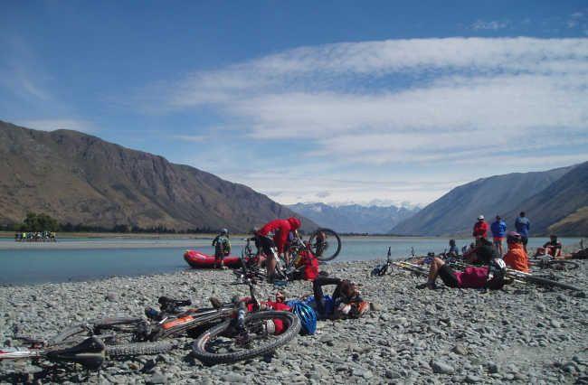 Rangitata River! Mountainbiking