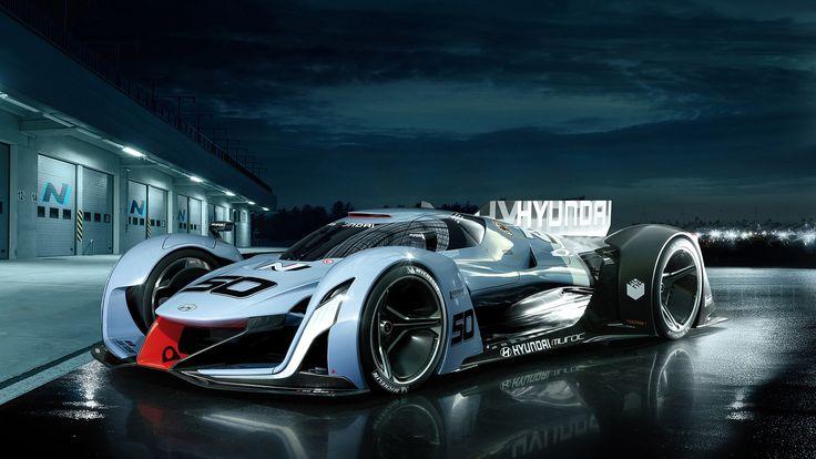 2015 Hyundai N 2025 Vision Gran Turismo Concept  http://www.wsupercars.com/hyundai-2015-n-2025-vision-gran-turismo-concept.php