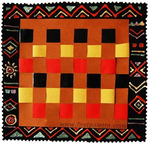 Paper Weaving Craft | Kids' Crafts | FirstPalette.