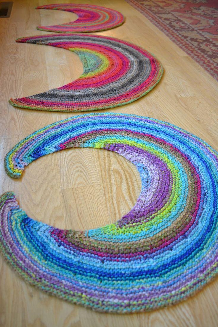 Fingerless gloves darn yarn - Susan B Anderson Silk Moon Crescent Or Fruit Slice To Me
